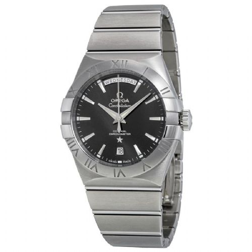OMEGA Constellation Co-Axial Day-Date 38mm Gents Watch 123.10.38.22.01.001